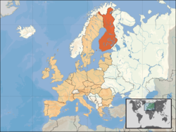 Map Finland